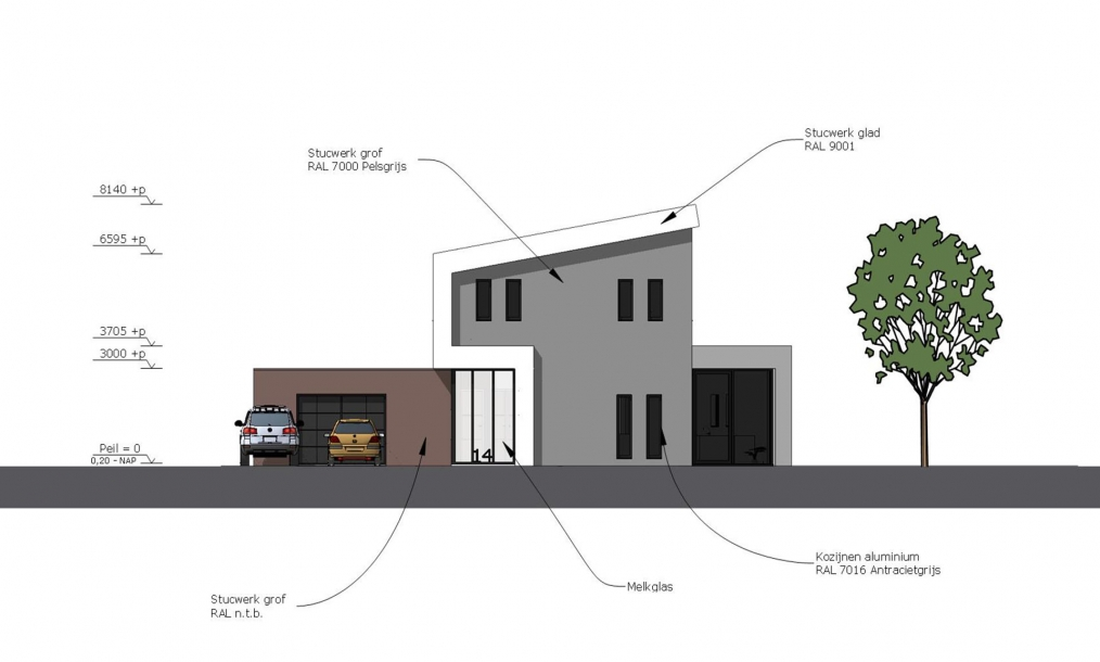 Energieneutrale villa zilverreiger h i a veldman architecten - Zoom ontwerp ...
