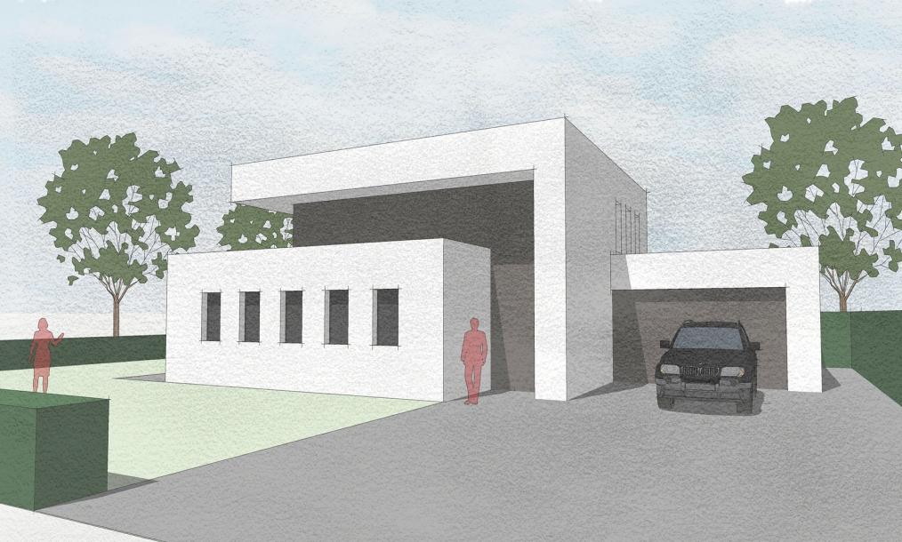 Fraaie compositie van moderne energieneutrale woning te Hekelingen