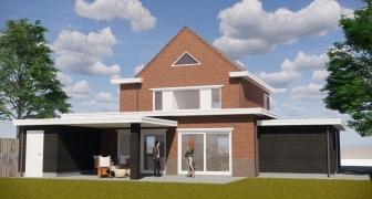 Uitbreiding woning Bijlokestraat, Axel (Zeeland)