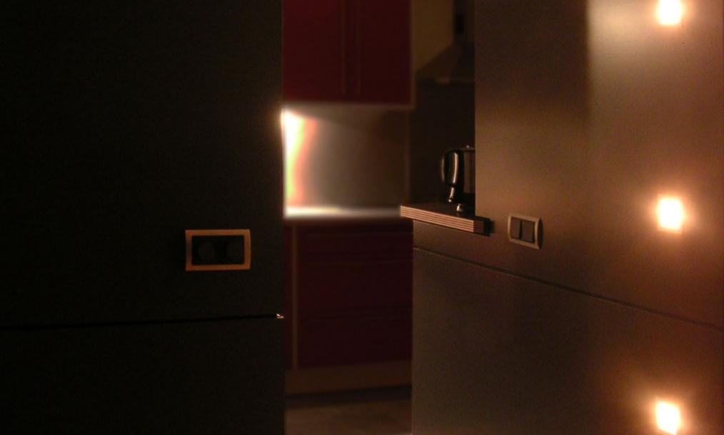 Nieuwe doorgang tussen woonkamer en keuken