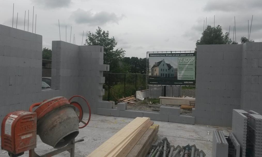 Innovatief bouwproces met hoge isolatiewaarden